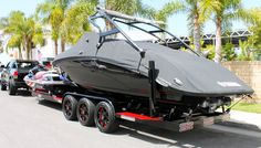 Looking at our website is time well spent. Read information on boat trader. Click the link to learn more. Jet Ski Trailer, Boat Trailer, Speed Boats, Power Boats, Ute Canopy, Row Row Your Boat, Ski Boats, Best Boats, Boat Stuff