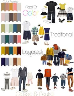 What to wear to family photos? Family Portraits What To Wear, Studio Family Portraits, Family Portrait Outfits, Family Pictures What To Wear, Large Family Photos, Fall Family Pictures, Family Pics, Couple Pictures, Fall Family Photo Outfits