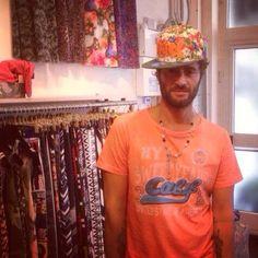 FILIPPO BISCIGLIA del GF7#shopart #baseballcap #pochette #bellissima #top #love #shopartonline #newcolllection#accessories #italianstyle