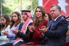 MYROYALS  FASHİON: King Abdullah and Queen Rania Celebrate Independence Day-Princess Salma, Princess Iman, Crown Prince Hussein, Queen Rania, King Abdullah