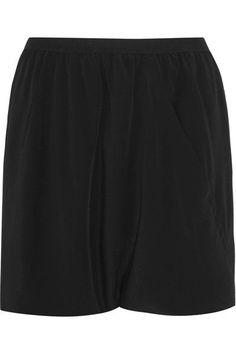 Rick Owens - Buds crepe de chine shorts ce6d38617