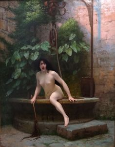 Truth Coming out of her Well to Shame Mankind, 1896 ~ Jean-Léon Gérôme (1824–1904), oil on canvas, 91 x 72 cm, Musée Anne-de-Beaujeu, Moulins, France. Wikimedia Commons.