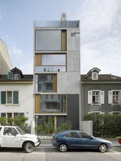 Buchner Bründler Architekten Wohnhaus Bläsiring