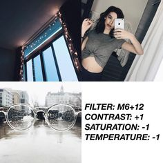 VSCOCAM Filter: M6+12| Contrast: +1|Saturation: -1|Temperature: -1 - Good for feed! Works well with everything even with dark pics(but not too dark)! What do you think the Instagram new updated? I love the old icon! #vsco#vscofilter#vscocam