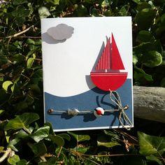 Carte «bateau sur l'eau – nouvelle version | Mon faire-part est unique «