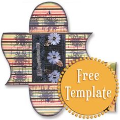 Funky Folder Template  http://stampington.com/the-studio/tempting-templates/free-tempting-template-Funky-Folder
