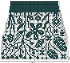 """Midsummer"" colourwork socks for women Novita Venla Knitting Charts, Knitting Stitches, Knitting Socks, Knitting Patterns, Fair Isle Chart, Flower Chart, Fair Isle Knitting, Filet Crochet, Knitting Projects"