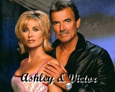 The Young and the Restless Victor Newman & Ashley Abbott