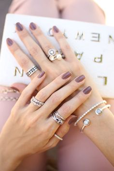 Pandora jewelry. mix of rings.