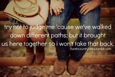 We both carry baggage we picked up on our way.. So if you love me, do it gently, and I will do the same <3
