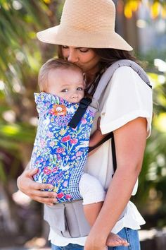 The Tula Toddler Baby Carrier is an ergonomic carrier made specially for your toddler that is safe and comfortable for you both. Ships free from PeppyParents.com.