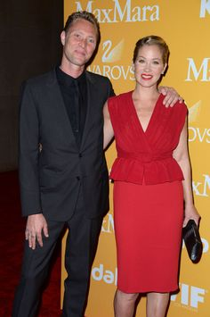 Christina Applegate & Martyn LeNoble Applegate and LeNoble tied the knot on Feb. 23 in a private ceremony after dating for five years. The couple have a daughter Sadie, 2.