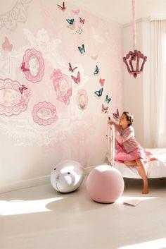 Detské tapety na stenu Kidzzz   Ambiente Bratislava Bratislava, Wallpaper S, Butterfly, Luxury, Pink, Ranges, Collections, Home Decor, Girls