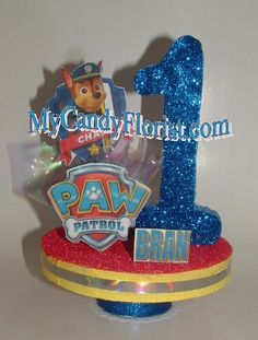 Paw Patrol 3D Cake Topper / Table Top Centerpiece! A 3D Decoration w/ your Favorite Character! Pers