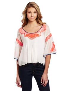 Plenty by Tracy Reese Women's Drop Shoulder Blouse for $168.00