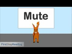 ▶ Long Vowel U Vowel Consonant Vowel, Beginning Readers Grammar Phonics Lesson - YouTube