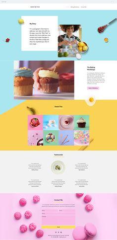 Baking Workshop Website Template