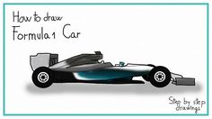 Learn how to draw Formula 1 Car