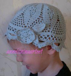 virkattu kesähattu - crochet summer hat