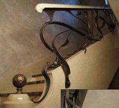 Кованые ограждения лестниц. Кузница на Клязьме - ковка изделий из металла