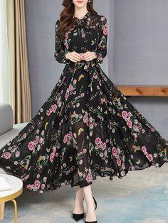 Spring Skirts, Chiffon Gown, Indian Attire, One Piece Dress, Indian Designer Wear, Pattern Fashion, Day Dresses, Fashion Dresses, Women's Fashion