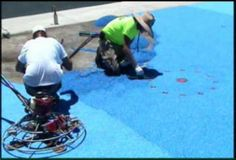 This is a video of Fibar Pebbleflex surfacing being installed at Altadena Park Splashpad in Phoenix, AZ. Pebbleflex is ideally suited for splashpad and playground applications due to its unique chemical properties. You can see a new pad of EPDM rubber adjacent to the Pebbleflex and notice the dramatic differences in the finished product. Pebbleflex can also be installed over SBR cushion course or FibarFoam for fall heights if needed.