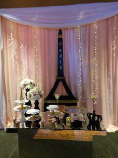 Paris themed Quinceanera @ Chez Josef