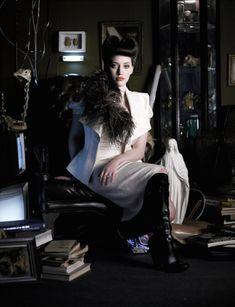 Kat Dennings: Blade Runner inspired photoshoot