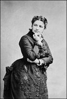 Victoria Claflin Woodhull, circa 1872. First woman to run for President of the United States.