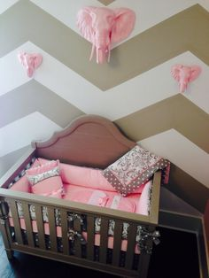 We love the way that one of our clients has used The Quintons and The Ingrid in her nursery! They look so pretty!