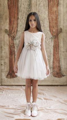 Vestido Iris. Moda#Infantil#Ceremonia#Hortensia#Maeso#kids#Dresses