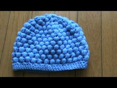 How to make a puff stitch beanie.                                                                                                                                                                                 Mais