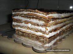 Torte Recepti, Kolaci I Torte, Baking Recipes, Dessert Recipes, Desserts, Torta Recipe, Torte Cake, Pub, No Bake Cake