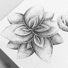 Amazing what you can do with dots. #illustrate #stippling #penink