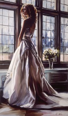 Rob Hefferan is a British artist. His oil paintings are full of sensuality, with nice colors and an admirable technique.
