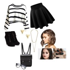 random outfit by bunnykayes on Polyvore featuring polyvore fashion style The Cambridge Satchel Company Givenchy ki-ele