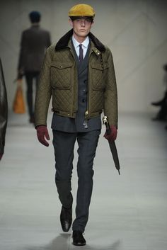 Burberry Prorsum Men Fall/Winter 2012