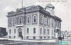 City hall, Medicine Hat, ALberta