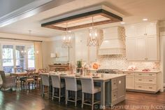 Incredible Kitchen. 2015 Birmingham Parade of Homes built by Murphy Home Builders.