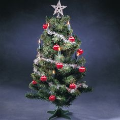 Best Decorated Christmas Tree Photos | ... -000 2ft Pre-Lit & Decorated Christmas Tree - LED Indoor Decoration