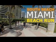 South Beach Virtual Run - Awesome POV Scenery for Indoor Cycling and Treadmill Running or Walking Virtual Run, Virtual Field Trips, Virtual World, Best Treadmill Workout, Running On Treadmill, Good Treadmills, Running On The Beach, South Beach Miami, Indoor Cycling