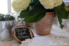 DIY Rustic Cupcake Stand - All Things Heart and Home