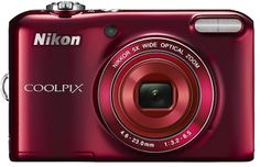 The Nikon Coolpix L28 is one of the best point and shoot camera inbuilt with extreme features such as slim and compact body with very stylish design, 20 megapixel resolution, 5x wide angle optical zoom nikkor lenses with complete automation. All such extreme features are available at very affordable price.
