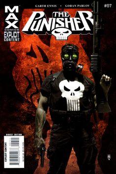 Punisher Vol. 7 # 57 by Tim Bradstreet Punisher 2004, Punisher Comics, Hq Marvel, Marvel Comics, Comic Movies, Comic Books, Daredevil Series, Wasteland Warrior, Comic Book Covers