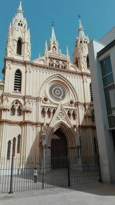 Fachada Iglesia sagrado corazón