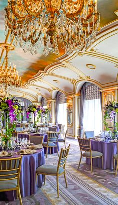 Ballroom at The St Regis Roof Marchesa