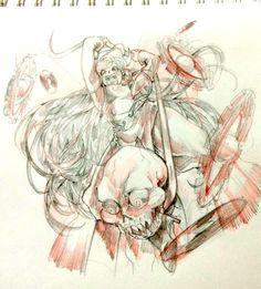Homestuck Aradia Megido  Lord English #For my ancestor #B*tch you thought?