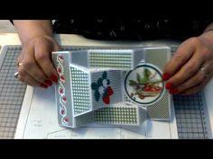 Fancy Fold Cards, Folded Cards, Shaped Cards, Pop Up Cards, Workshop, Card Making, Youtube, Scrapbook, Make It Yourself
