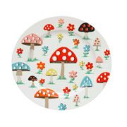 Mushroom Dinner Plate