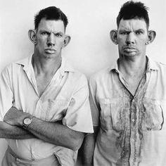 Dresie and Casie, twins, Western Transvaal, 1993 Roger Ballen
